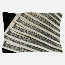 One hundred dollar bill Pillow Case
