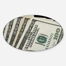 Unique Cash Sticker (Oval)