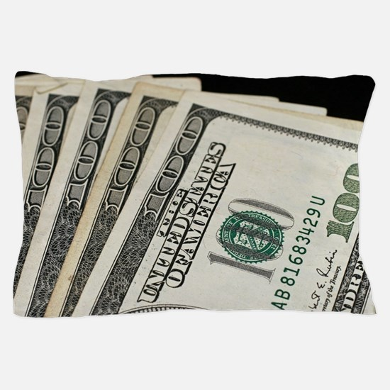 Funny Money Pillow Case