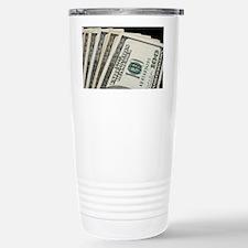 Funny Hundred dollar bill Travel Mug