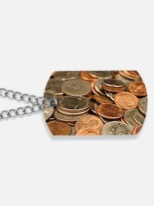 Cute Coins Dog Tags