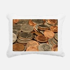 Cute Nickel Rectangular Canvas Pillow