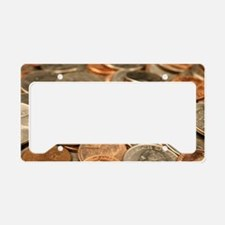 Cute Coin License Plate Holder