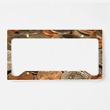 Unique Penny License Plate Holder