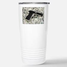 Hundred dollar bill Travel Mug