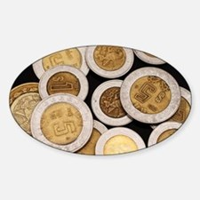 Unique Mexican money Decal