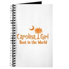 Orange Carolina Girl Best Journal