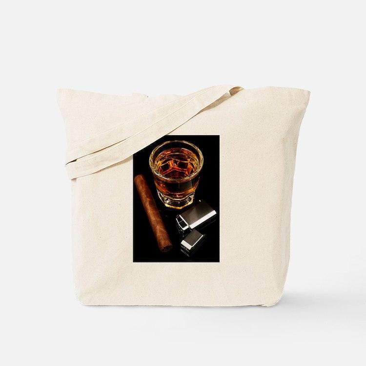 Cute Cigar smoking Tote Bag