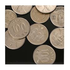 Unique Coin Tile Coaster