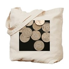 Funny Coin Tote Bag