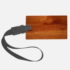 Unique Timber Luggage Tag