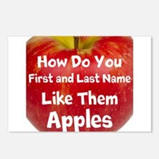 How do you like them Apples Postcards (Package of