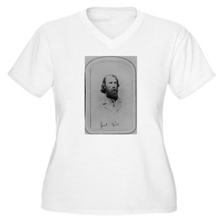 Ambrose Hill Women's Plus Size V-Neck T-Shirt