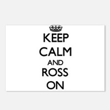 Keep Calm and Ross ON Postcards (Package of 8)