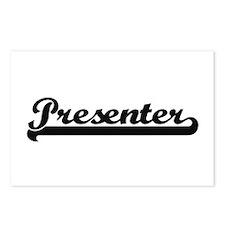 Presenter Artistic Job De Postcards (Package of 8)
