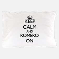 Keep Calm and Romero ON Pillow Case