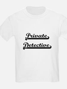 Private Detective Artistic Job Design T-Shirt