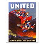 Fight For Freedom Small Poster