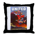 Fight For Freedom Throw Pillow