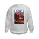 Fight For Freedom (Front) Kids Sweatshirt