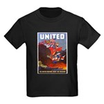 Fight For Freedom (Front) Kids Dark T-Shirt