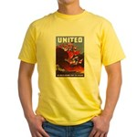 Fight For Freedom Yellow T-Shirt