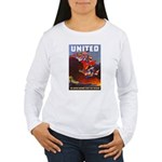 Fight For Freedom (Front) Women's Long Sleeve T-Sh