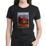 Fight For Freedom (Front) Women's Dark T-Shirt
