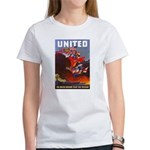 Fight For Freedom (Front) Women's T-Shirt