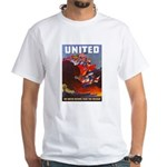 Fight For Freedom (Front) White T-Shirt