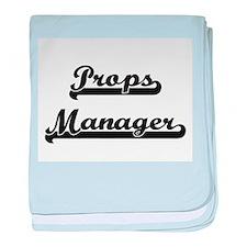 Props Manager Artistic Job Design baby blanket