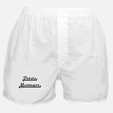 Props Manager Artistic Job Design Boxer Shorts