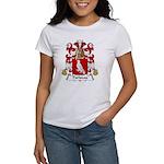 Pariseau Family Crest Women's T-Shirt