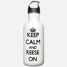 Keep Calm and Reese ON Water Bottle