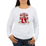 Pariseau Family Crest Women's Long Sleeve T-Shirt