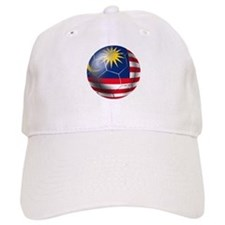 Malaysia Soccer Ball Baseball Cap