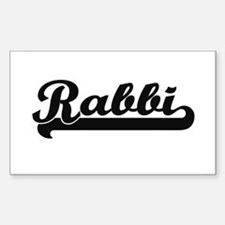 Rabbi Artistic Job Design Decal