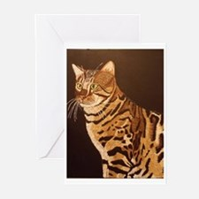 Bengal Kitty Greeting Cards