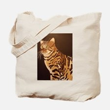 Bengal Kitty Tote Bag