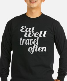 eat well travel often T