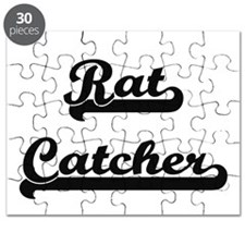 Rat Catcher Artistic Job Design Puzzle