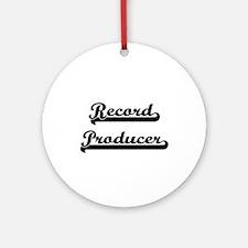 Record Producer Artistic Job Desi Ornament (Round)