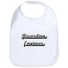 Recording Engineer Artistic Job Design Bib