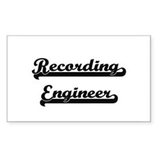 Recording Engineer Artistic Job Design Decal