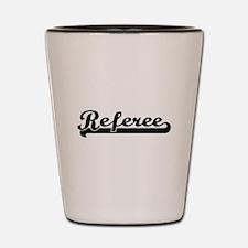 Referee Artistic Job Design Shot Glass