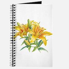 Yellow Daylilies Journal
