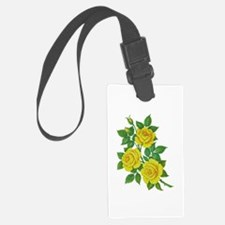 Yellow Roses Luggage Tag