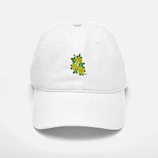 Yellow Roses Baseball Baseball Cap