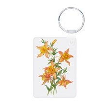 Yellow Ginger Lilies Keychains