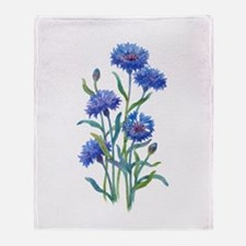 Blue Bonnets Throw Blanket
